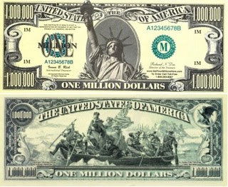 1,000,000 US dollar