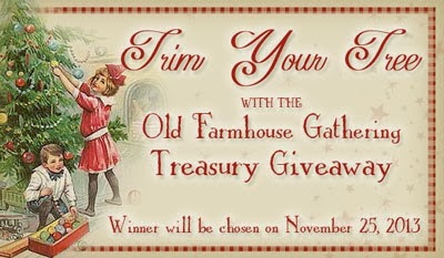 Old Farmhouse Gathering Treasury Giveaway