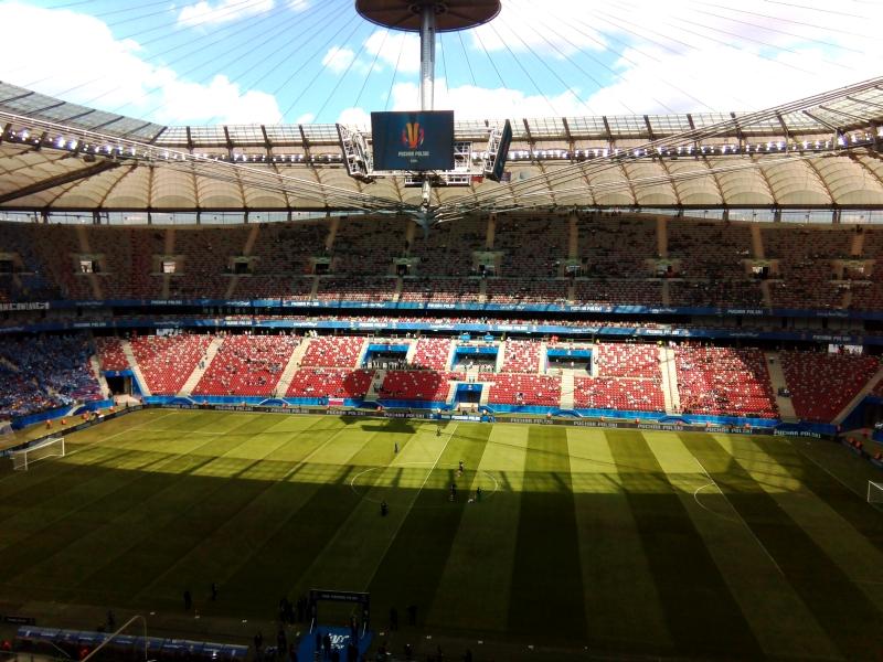Stadion Narodowy przed meczem - fot. Tomasz Janus / sportnaukowo.pl