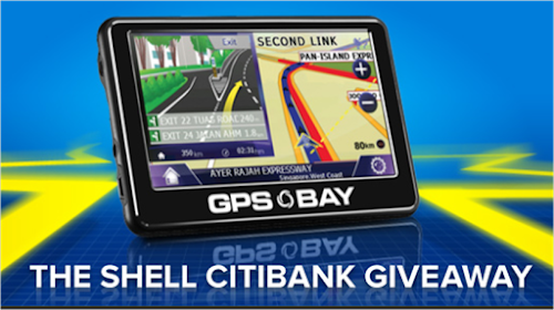 Shell - Citibank 'GPS Bay Giveaway' Contest