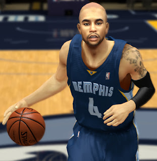 NBA 2K13 Jerryd Bayless Cyber Face Mod