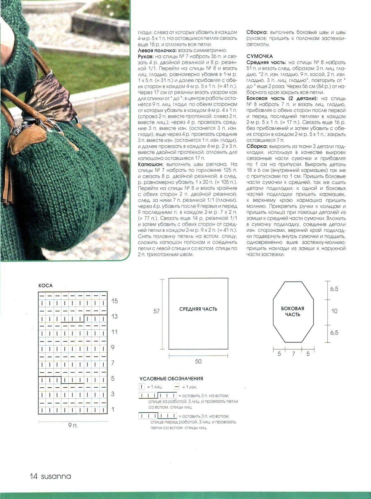 Журналы вязания сумок крючком с описанием