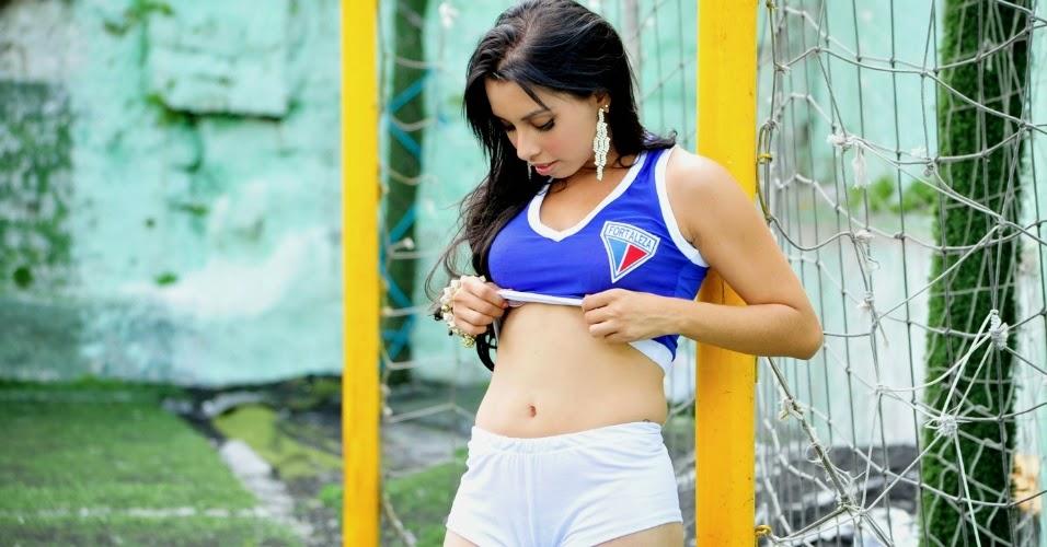 Mara Castro - Bela do Fortaleza Esporte Clube no  Belas da Torcida 2014
