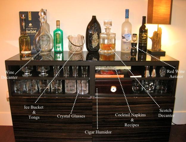 Vanilla & Lace: Liquor Cabinet