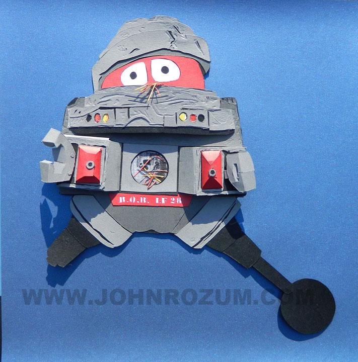 black hole old bob robot - photo #5