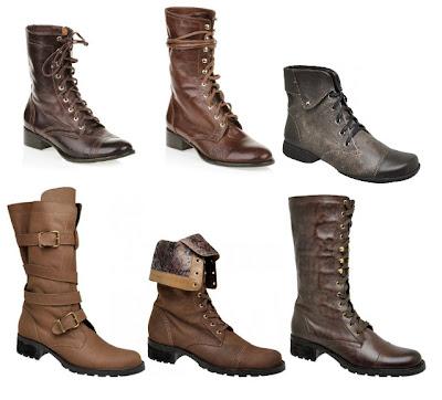 novas botas inverno 2013