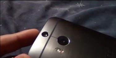 Tampilan Desain Belakang HTC M8, penerus HTC One