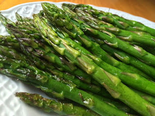 Oven Roasted Asparagus from Top Ate on Your Plate