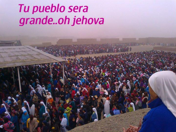 AEMINPU - ISAREL, Congregación de JEHOVÁ
