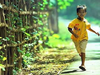 Anak lari - foto uungferi.com