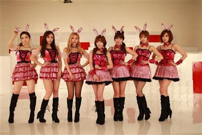 T-ara 'Bunny Style' Concept Photos Official