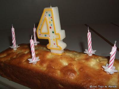 Gâteau aux pommes - 45 ans