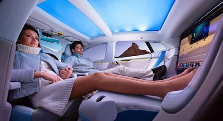 Rinspeed Xchange (interior). Majalah Otomotif Online