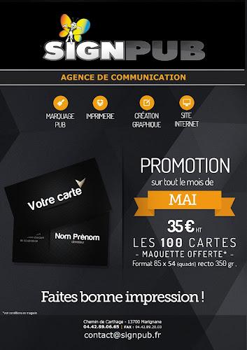 Promotion Cartes De Visite AIX EN PROVENCE MARSEILLE MARIGNANE VITROLLES SALON DE