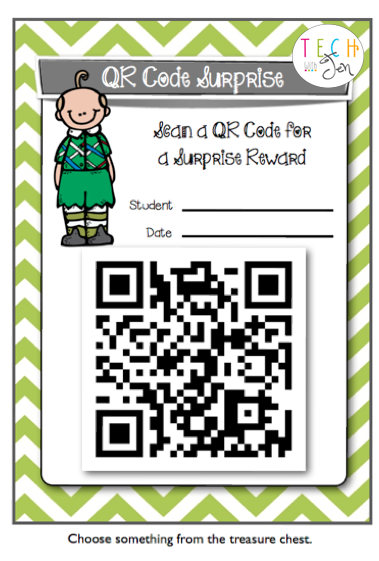 QR Codes for Behavior Management? I've got to have this in my room!