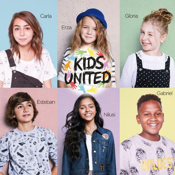 Cd Jaquette Kids United Un Monde Meilleur