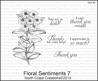 North Coast Creations Stamp sets - Floral Sentiments 7