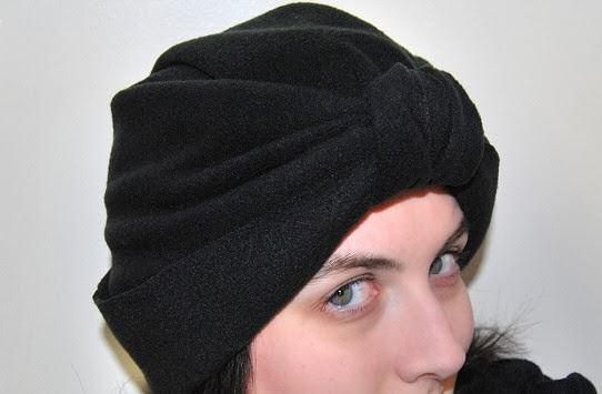patrón gratis turbante