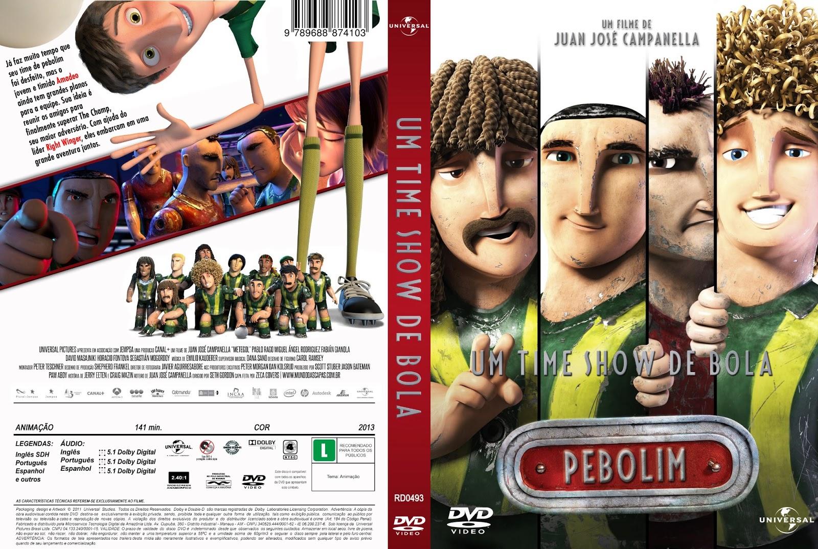 Um Time Show de Bola DVDRip XviD Dual Áudio Um Time Show De Bola   C D DVD