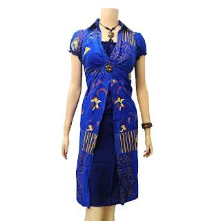Model Baju Batik Wanita Terbaru 2013, Trend Baju batik 2013