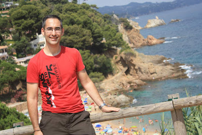 Sant Francesc beach in Blanes and Costa Brava
