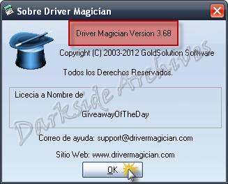 Driver+Magician+3 Driver Magician 3.68   Español   Full   Gratis