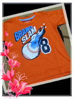 kaos oshkosh orange grand slam