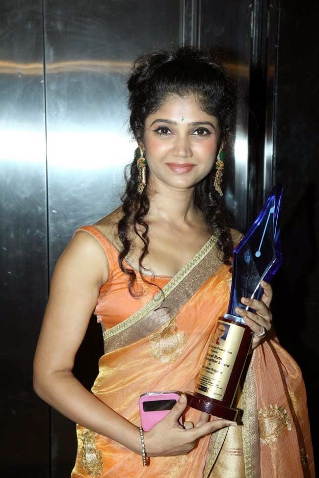 Ratan Rajput at Dr. Ambedkar Award Ceremony