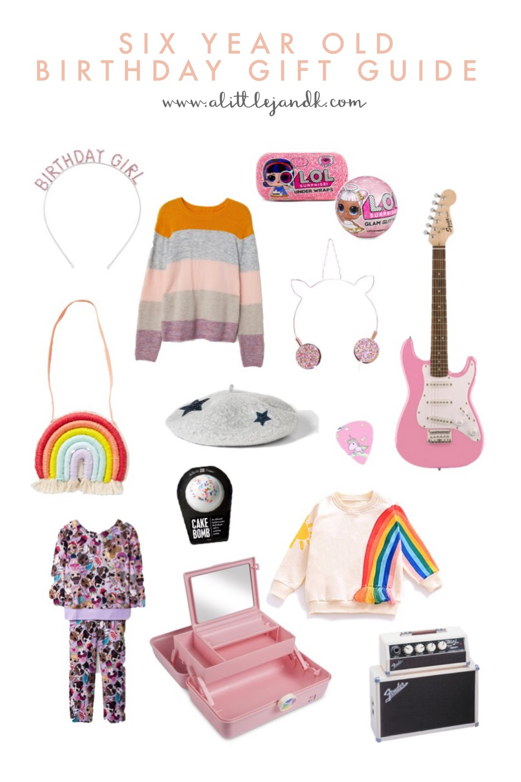 Six Year Old Birthday Gift Guide