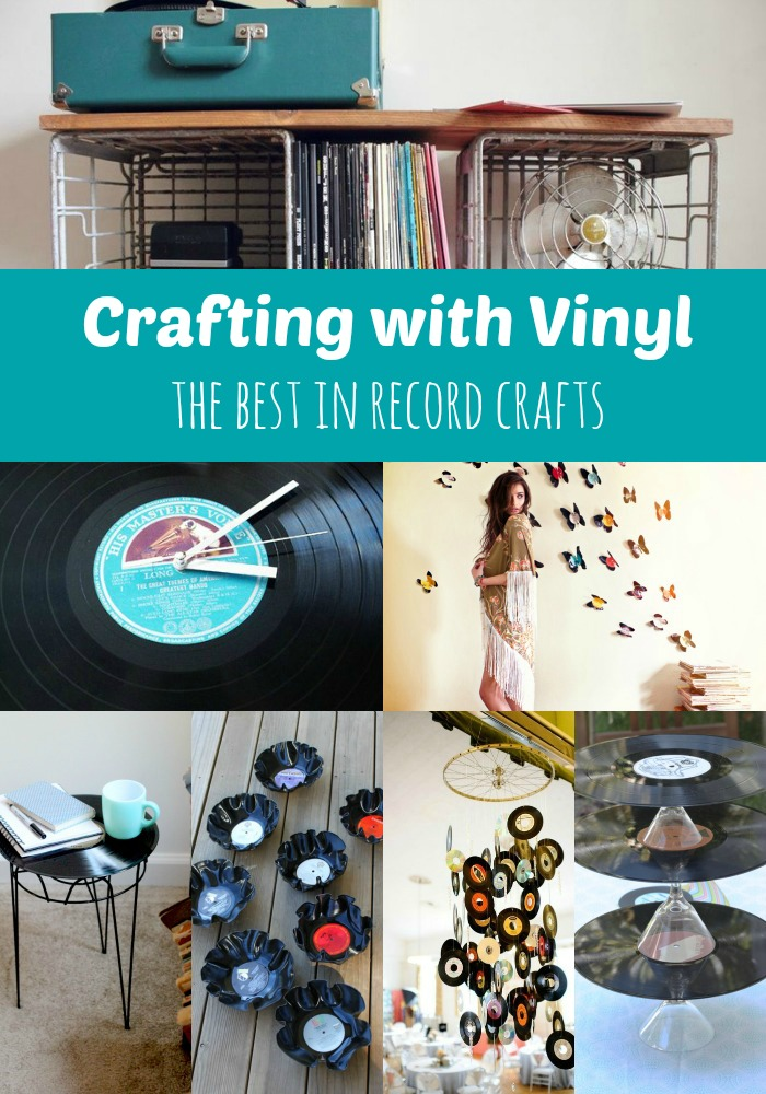 Goodwill Tips Crafting With Vinyl The Best In Record Crafts