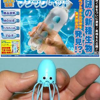 Micro juguetes flotantes Bandai