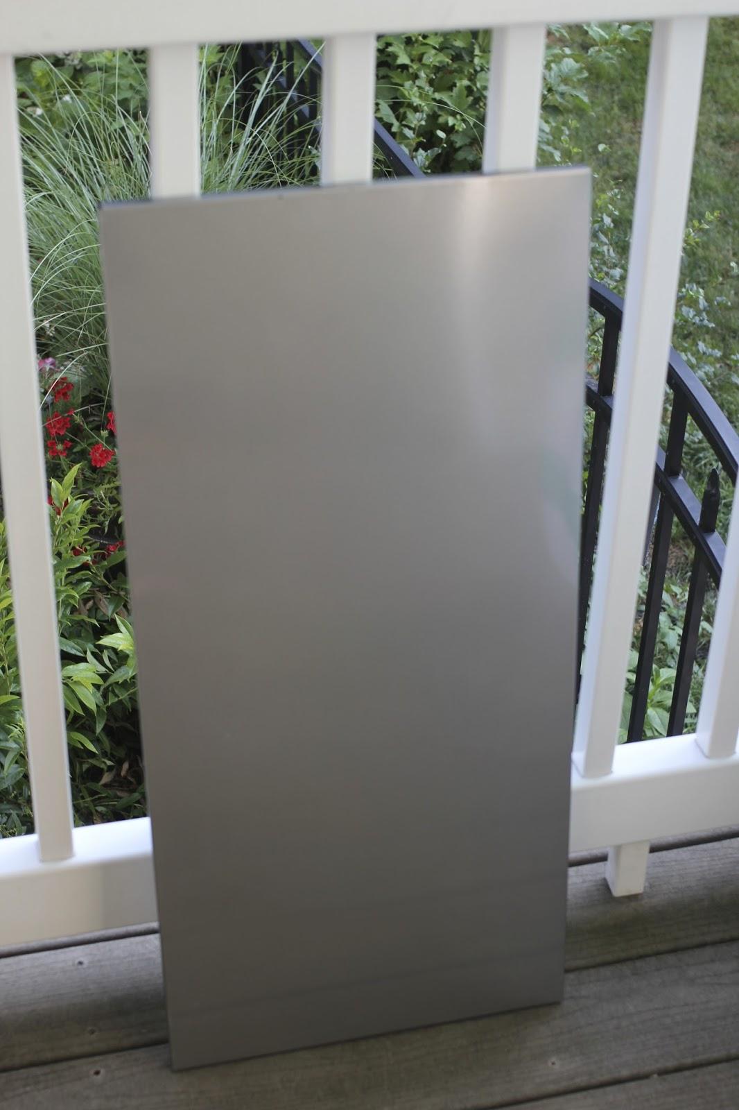golden boys and me easy stenciled memo board. Black Bedroom Furniture Sets. Home Design Ideas