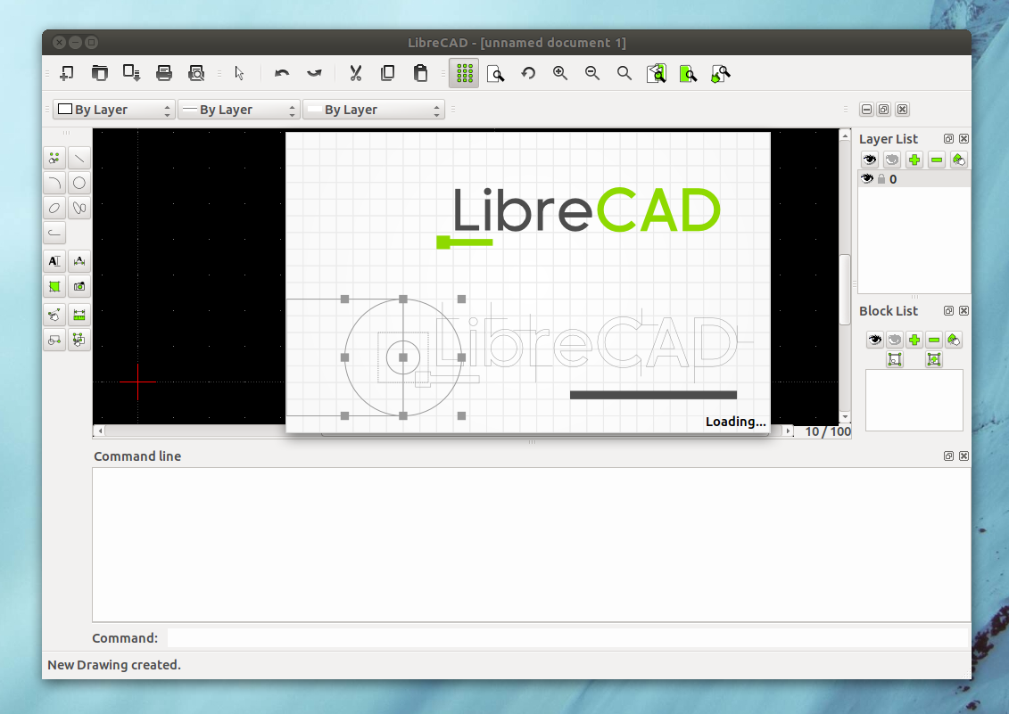 Librecad 1 0 0 released cross platform 2d cad drawing Web cad software