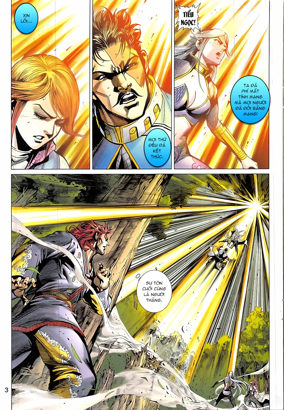 Thần Chưởng chap 24 – End Trang 3 - Mangak.info