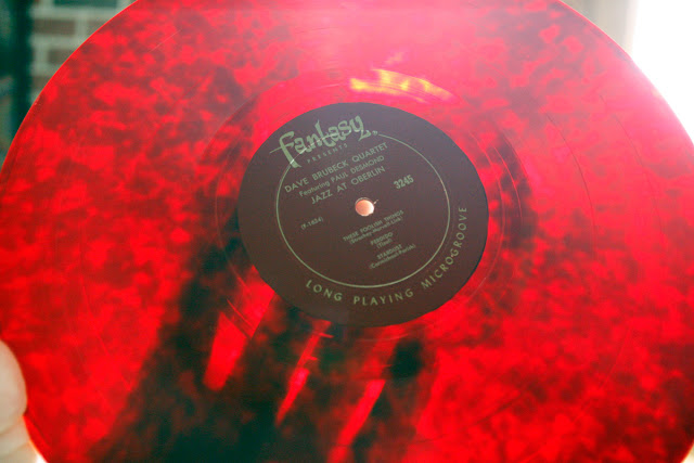 Dave Brubeck Jazz at Oberlin Red Vinyl Fantasy Records