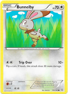 Bunnelby Primal Clash Pokemon Card