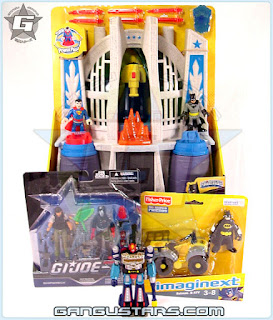 Imaginext DC Super Friends Hall of Justice comics アメコミ ダイアクロン バットマン Diaclone Robotbase batman g.i.joe