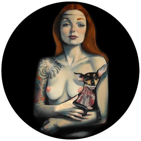 Venus - La dama del perrito - Fernando Vicente