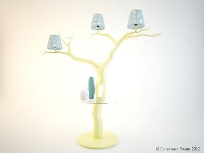 Diseño de  lampara  de ensueño