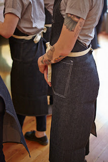Staff attire at TBD Restaurant in San Francisco