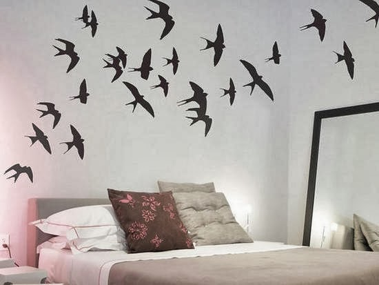 Beauty ideas para decorar tu cuarto 1 - Formas de pintar una pared ...