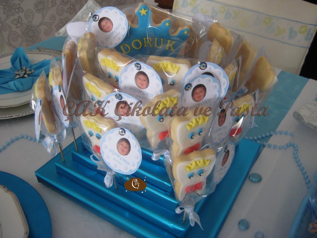 Diş Buğdayı Kurabiyeleri/Teething Party Cookies