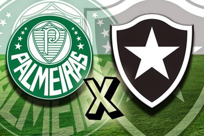Assistir Palmeiras x Botafogo ao vivo em HD agora