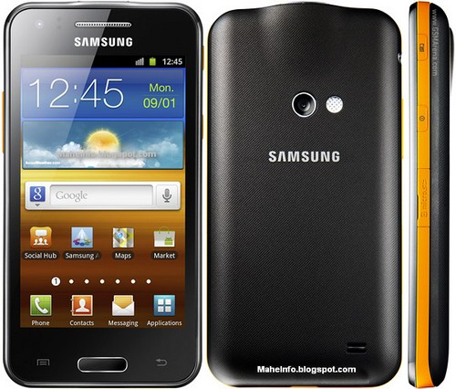 Samsung I8530 Galaxy Beam projector phone