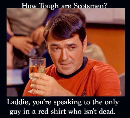 Boldly going...