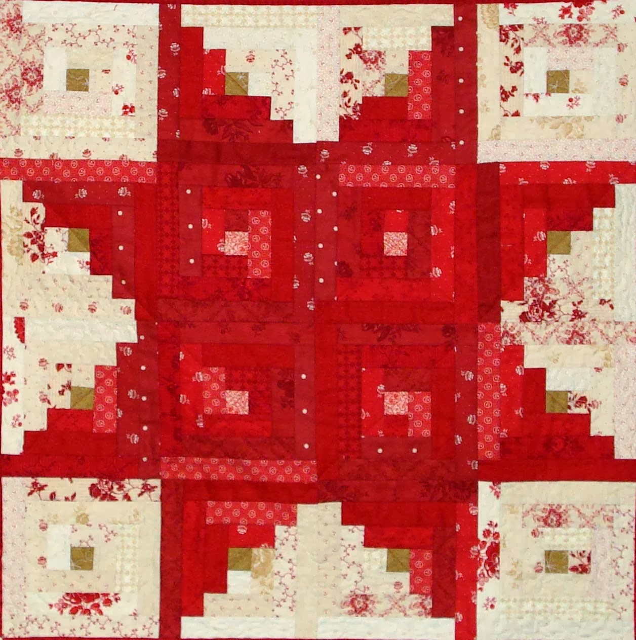 Quilt Inspiration: Free pattern day: Christmas quilts ! (part 3)