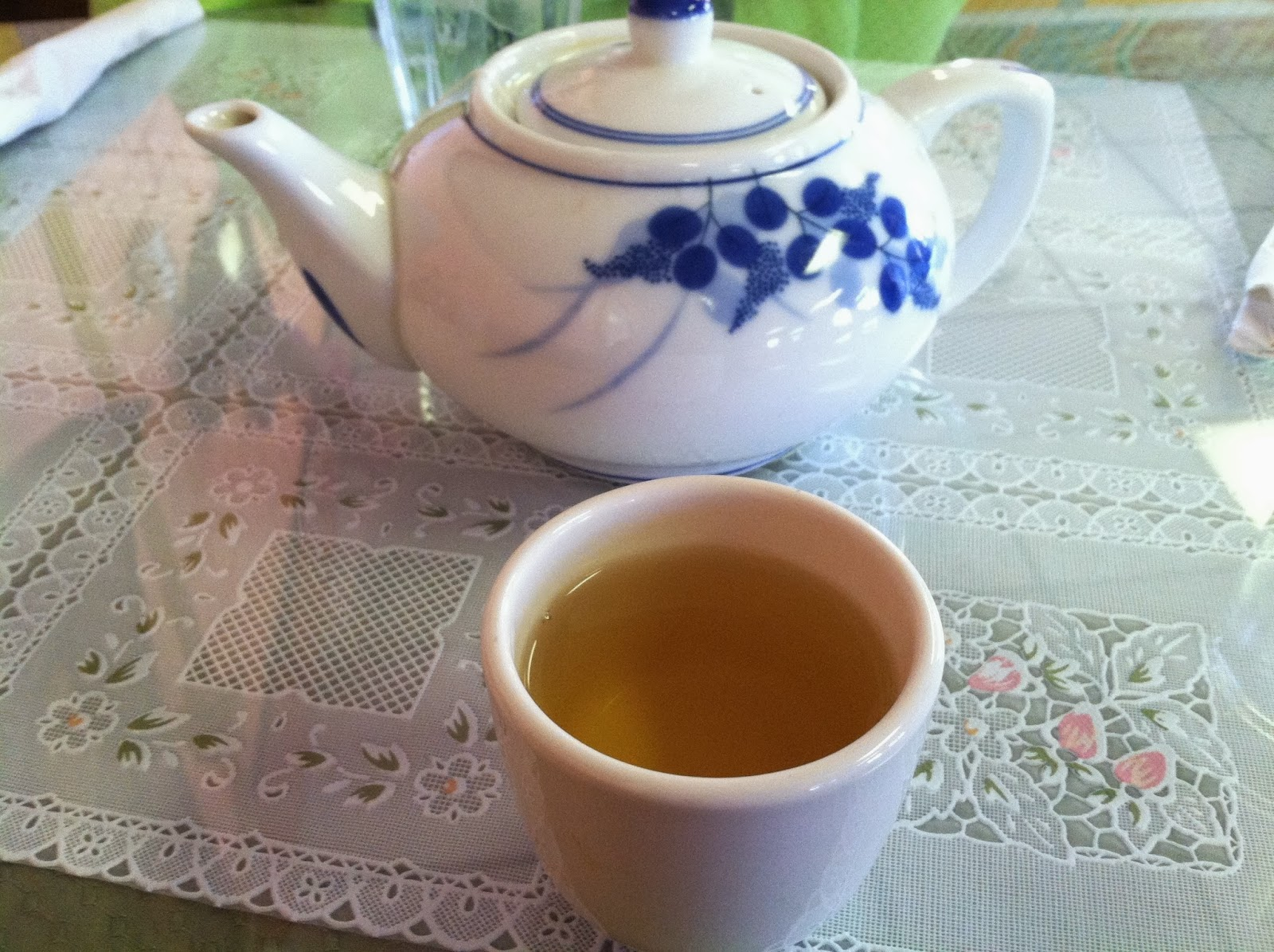 tea, green tea, teapot, teacup, asain