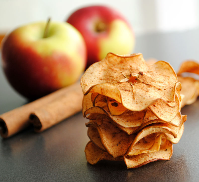 Leanne bakes: Spiced Apple Chips