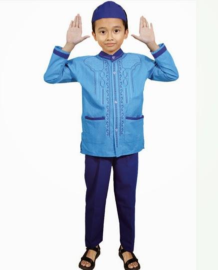Contoh Model Baju Koko Anak Terbaru Lebaran 2015