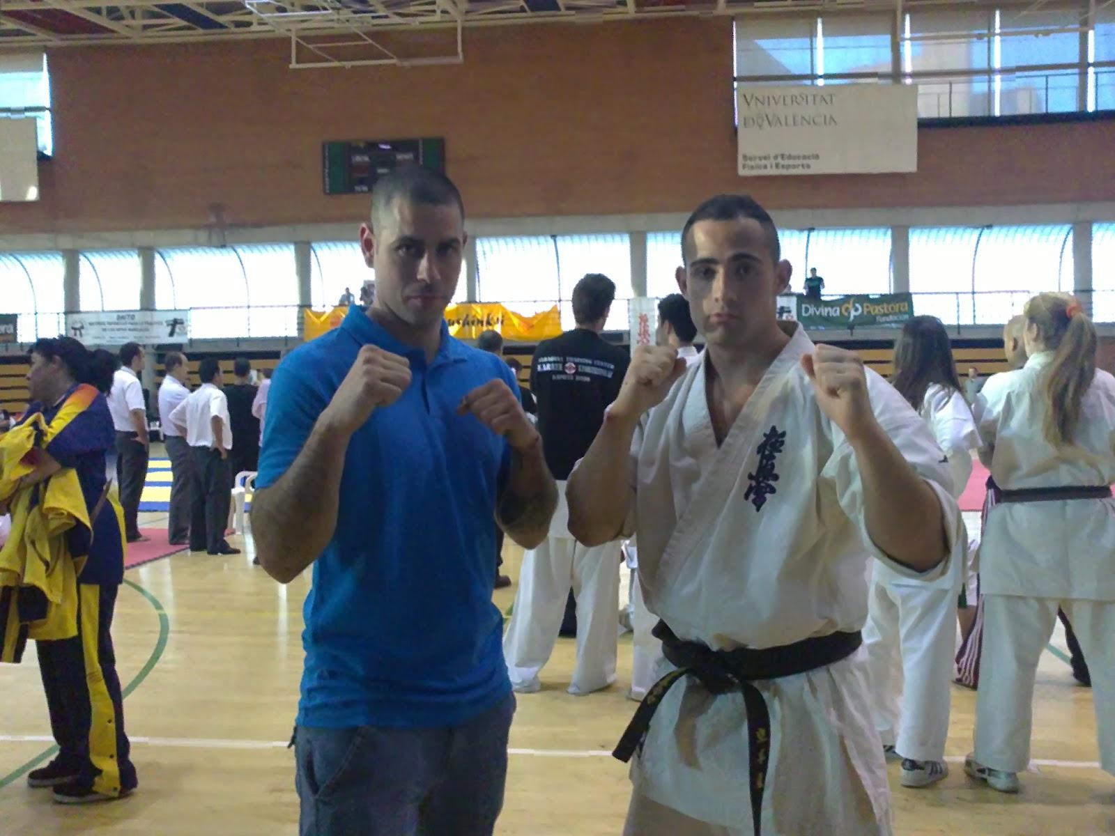 video karate kyokushinkai: